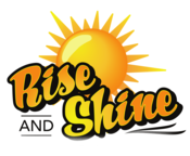 Rise and Shine car wash logo